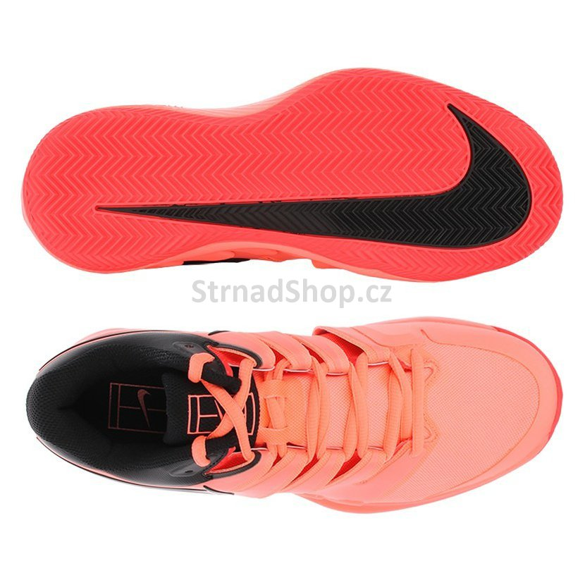 Pánská obuv NIKE Air Zoom Vapor X Clay Lava Glow Black Red cde1c58b19f